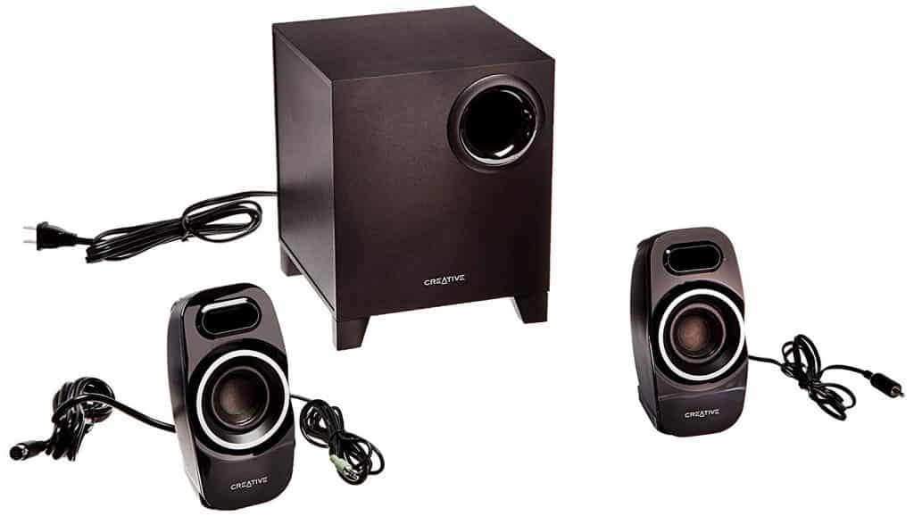 Creative labs A250 2.1 Channel Multimedia Speaker System