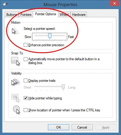 Changing DPI settings on Windows 7 and 8
