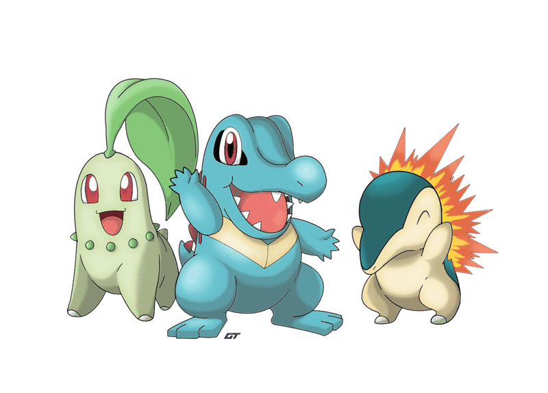 Generation 2 Pokemon Starter
