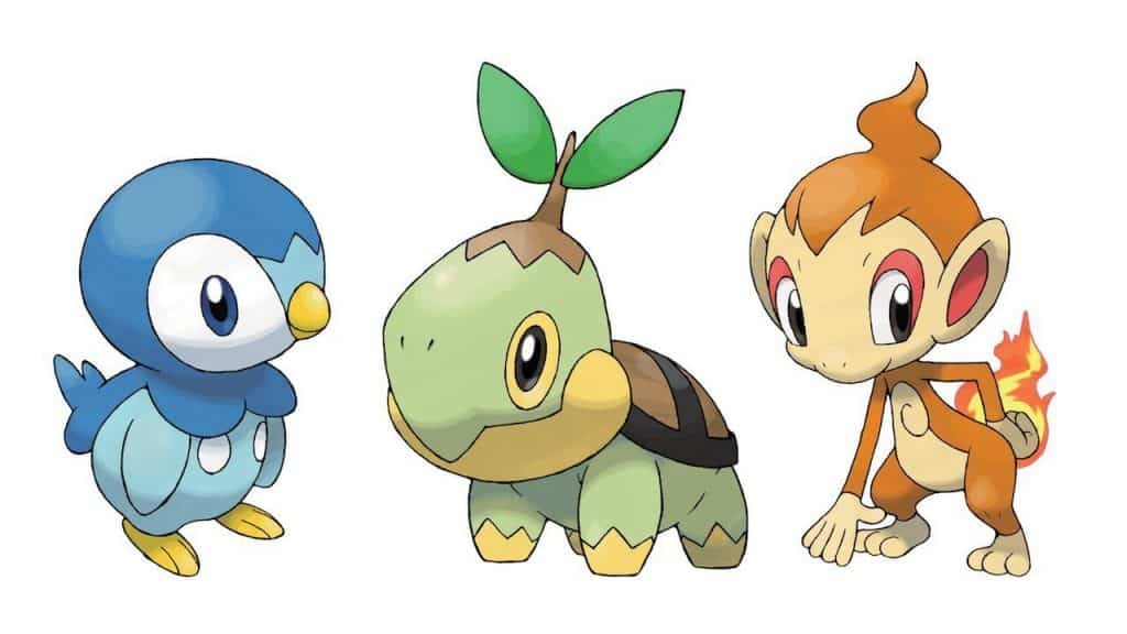 Generation 4 Pokemon Starter