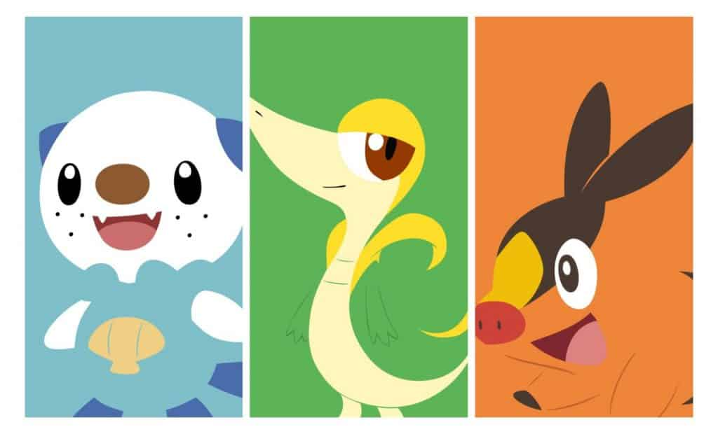 Generation 5 Pokemon Starter