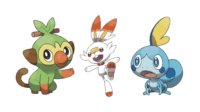 Generation 8 Pokemon Starter