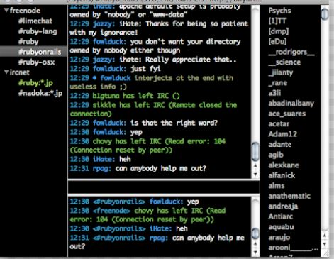 10 Best IRC Clients For Windows, Mac, and Linux 5