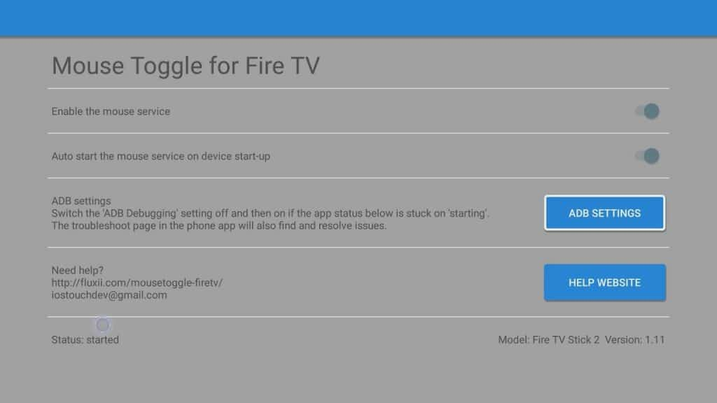 Mouse Toggle for Android TV