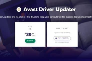 Avast Driver Updater Review