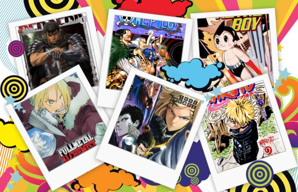 15 Most Popular Manga Of All Time (Best selling)
