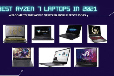 AMD Ryzen 7 laptops