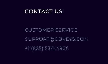 CDKeys contact information