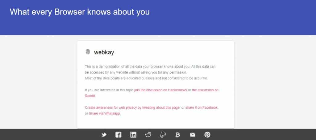 Your Web Browser Knows You Better