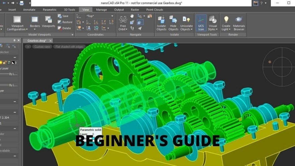 free CAD software Beginner's Guide