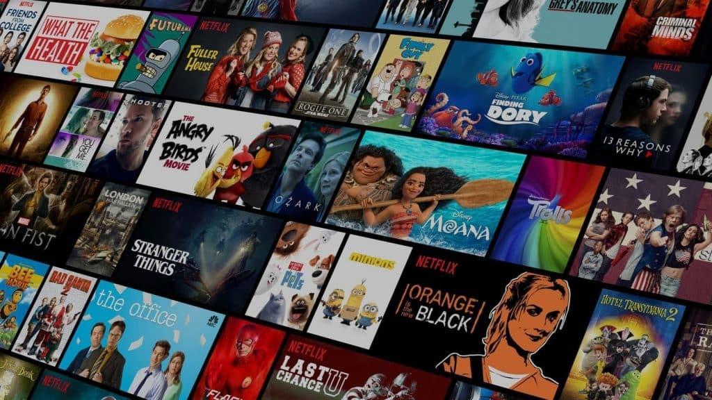 Netflix libraries through CyberGhost VPN