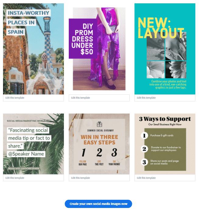 Portfolio website and social media tools
